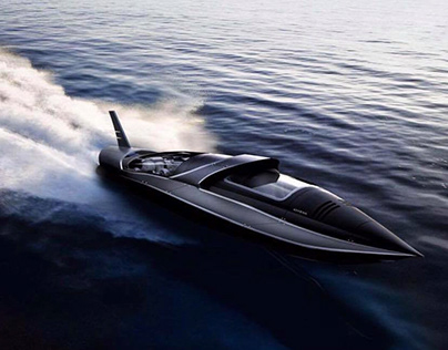 ''Athena'' PowerBoat