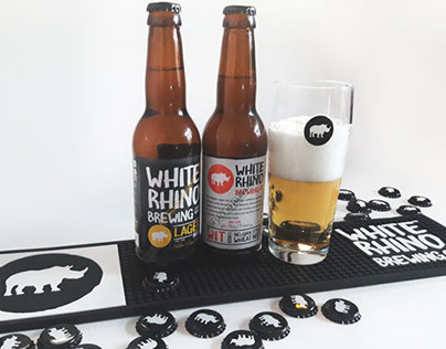 White Rhino Brewing Co. – Brand Identity