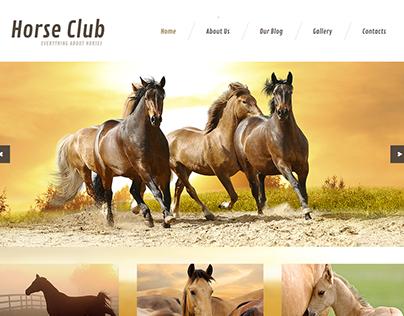 Horse Club Joomla Template