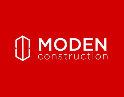 Moden construction brand identity design