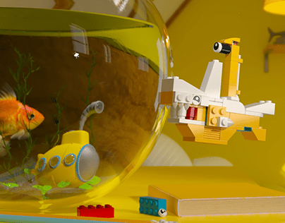 LEGO - Animals with a bit extra