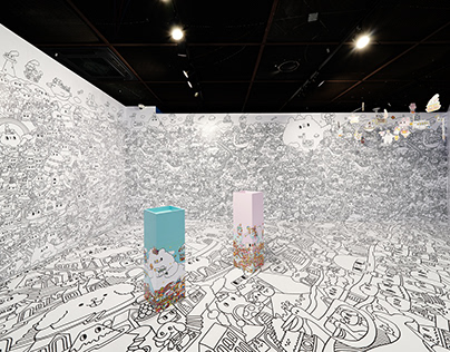 Paradise of Messy Desk Exhibition @ Hoban Artrium