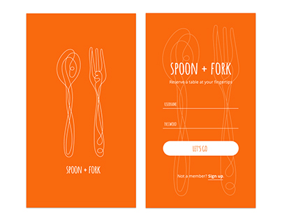 Spoon + Fork iOS UI App