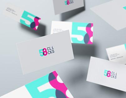 58 Clicks | Visual Identity