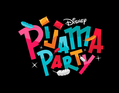 Disney Channel Pijama Party - Temp III Motion graphics