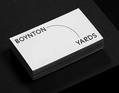 Boynton Yards Identity