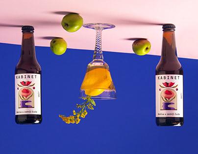 Illustration for Kabinet Brewery's Melisa beer