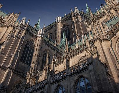 Perspektive I Kathedrale