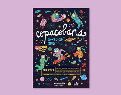 Copacobana Festival - Poster Design