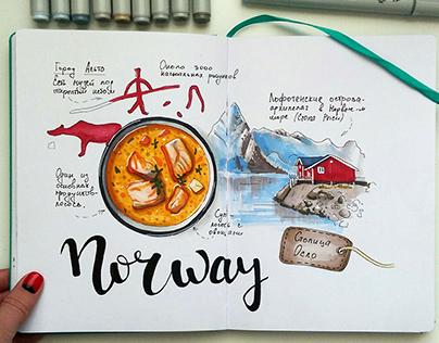 Travel-sketch