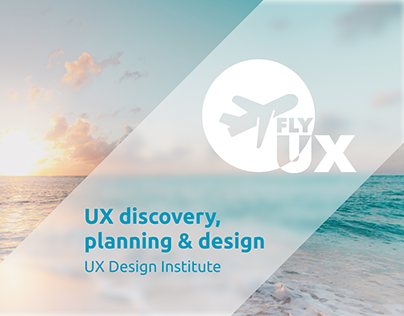 UX discovery, planning & design of flight booking flows