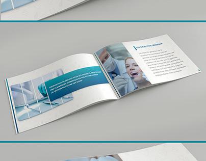 Brochure pour cabinet dentaire par Swiss Progress