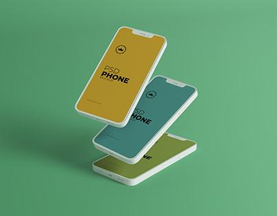 Clay IPhone 12 ProMockup