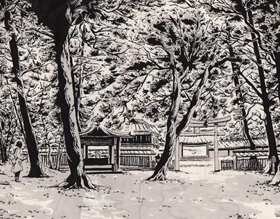 Japan (Sketchbook - Spring 2015)