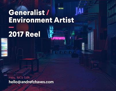 Generalist / Environment Artist — 2017 Reel