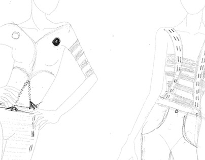 Fashion Sketches: Jerusalem 3018