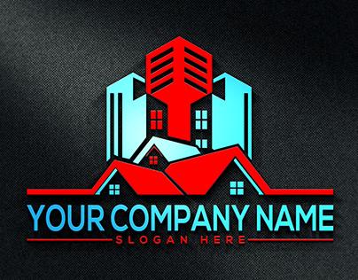 professional brandnewrealestate,construction logodesign
