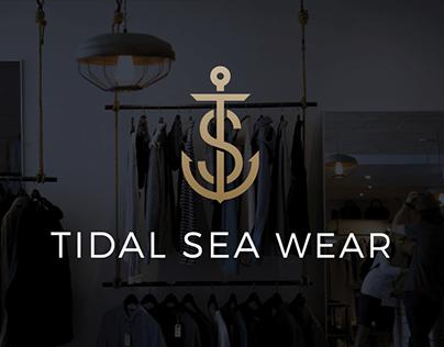 Tidal Sea Wear Brand Identity