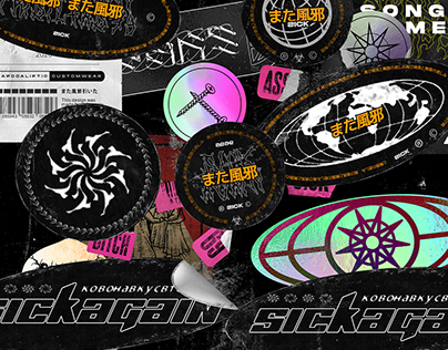 FULL STICKERS PACK 2