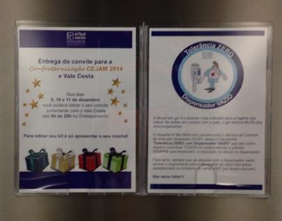 Comunicação nos elevadores