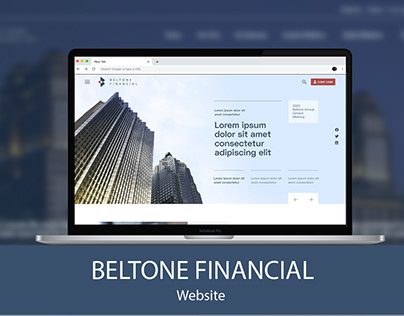 Beltone Financial Website