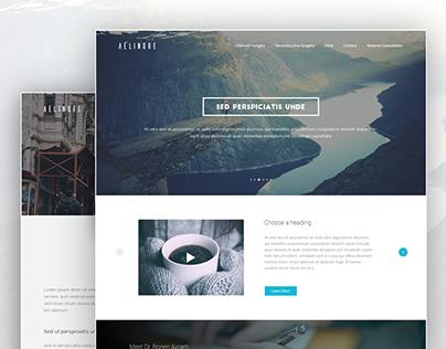 Aelinore Multipage Website Design
