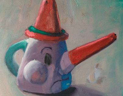 Teapot characters-Pinocchio series