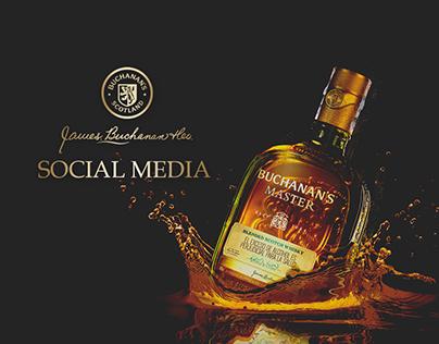 BUCHANAN'S - SOCIAL MEDIA
