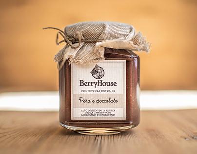 Etichetta confettura Berry House
