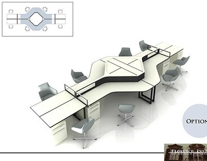 Furniture design - interior design studio project / FID