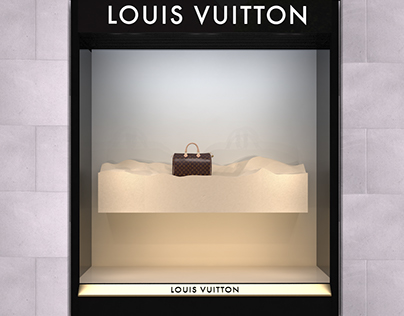 Louis Vuitton Store Window Visualizations