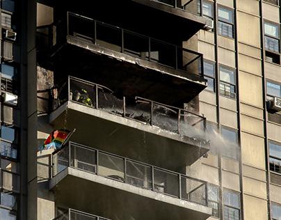 Burning Apartments // Washington Heights // 9.2019