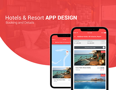 Hotel & Resort Booking App