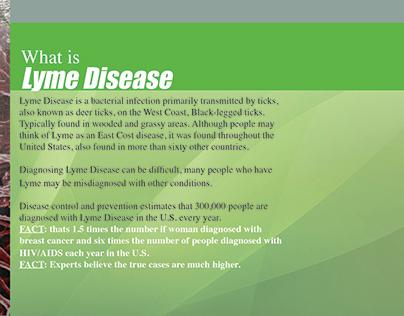Lyme Disease Campaign Flip Book.