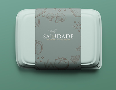 Logo, Branding - SAUDADE
