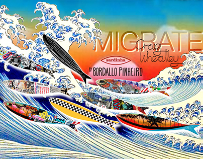 """Migrate"" Sardine designs for Bordallo Pinheiro"