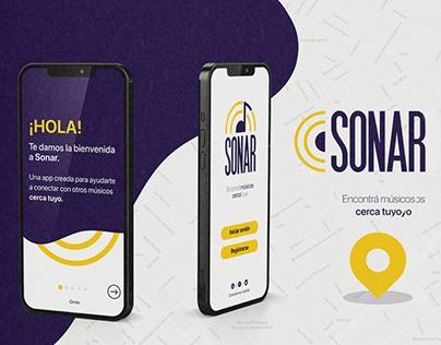 Sonar App. Coderhouse UX UI.