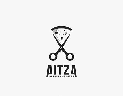 Pitza, barber and pizza