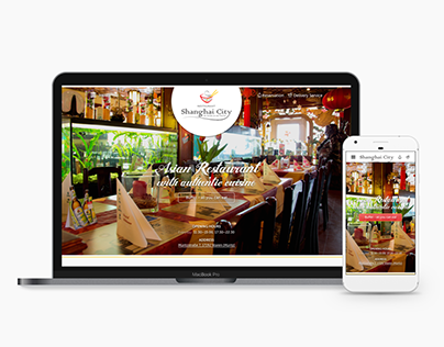 Asian Restaurant webdesign
