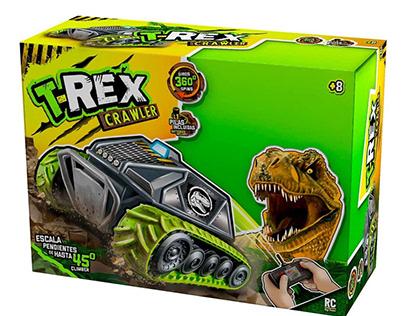 packaging T-REX CRAWLER
