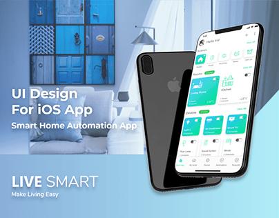 iOS App Presentation - LIVE SMART