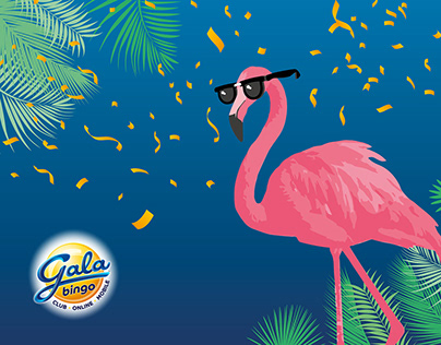 Gala Bingo Flamingo Launch Campaign