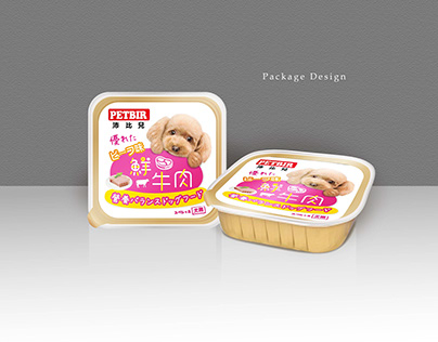 Package Design - pet food