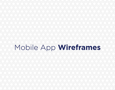 Squad - Wireframe and UI design for Mobile App