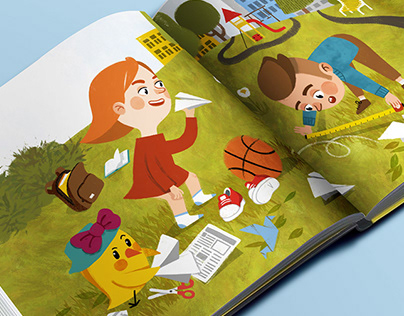 Ilustrations for children book