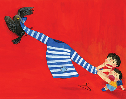 """""""The stripped shirt"""" picture book"""
