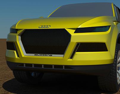The Audi Säbelzahn© Quattro Concept