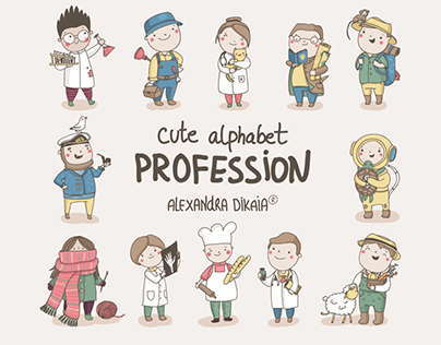 Alphabet Profession