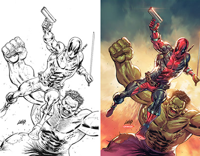 MARVEL: The Immortal Hulk #45 Cover