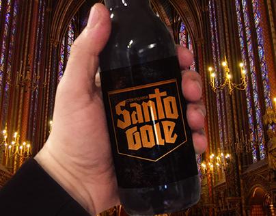 Identidade Visual - Cervejaria Santo Gole